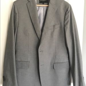 Banana republic grey sport coat 40R, sharp blazer